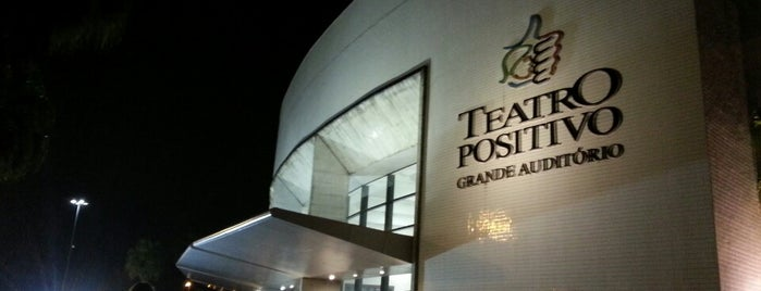 Teatro Positivo is one of Meu lugares.