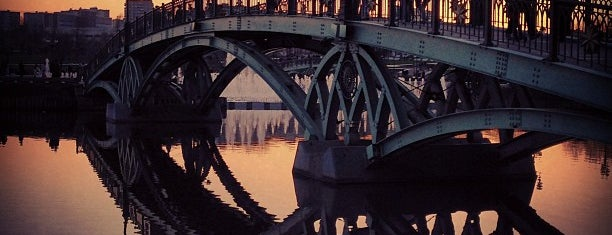 Фигурный мост is one of Москва лето 2017.