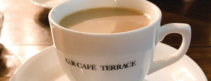 G.R CAFE TERRACE is one of Potential Work Spots: Osaka.
