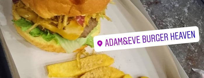 Adam&Eve Burger Heaven is one of Restaurants.