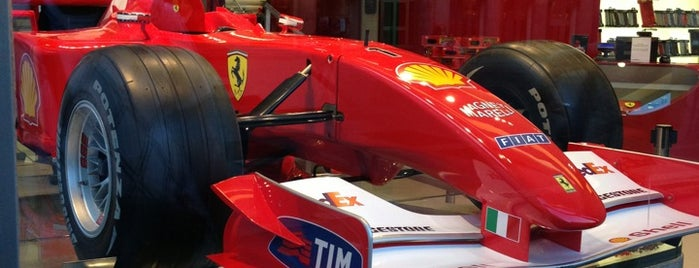 Ferrari Store is one of Ugur e..