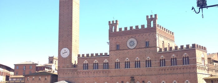 Siena is one of EUROPE.