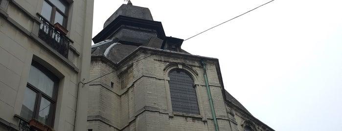 Onze-Lieve-Vrouw van Goede Bijstandkerk / Église Notre-Dame de Bon Secours is one of 🇧🇪 Bélgica by Jana.