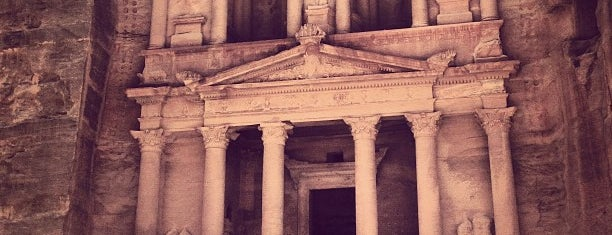 Petra is one of World Heritage Sites List.