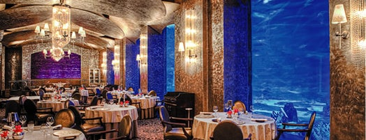 Ossiano is one of Dubai's Finest Restaurants.