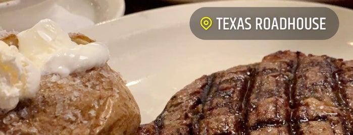 Texas Roadhouse is one of Tempat yang Disimpan Queen.