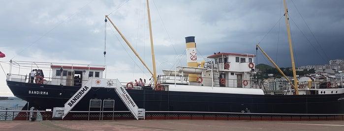 Bandırma Gemi Müze ve Milli Mücadele Açık Hava Müzesi is one of Anıl'ın Beğendiği Mekanlar.