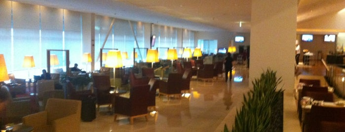 Qatar Airways First Class Lounge is one of Airport.