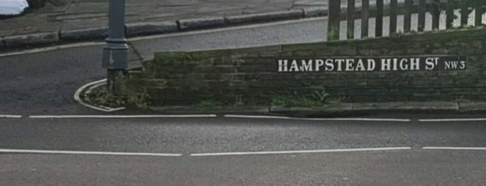 Hampstead High Street is one of London.