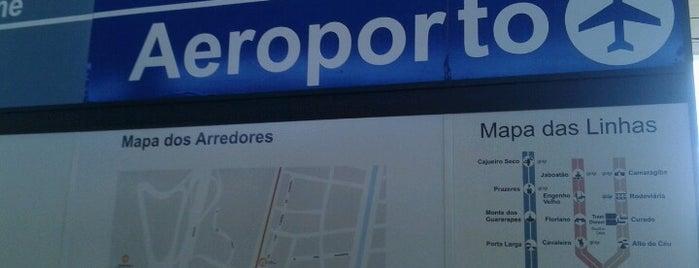 Terminal Integrado Aeroporto is one of Lugares recomendados.