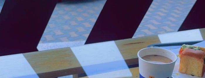 رصيف ٤ is one of Riyadh breakfast 🍳.