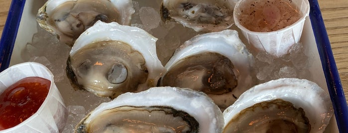 The Shop - Raw Bar & Shellfish Market is one of This Is Fancy: Oysters.