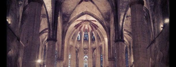 Basílica de Santa María del Mar is one of Barcelona.