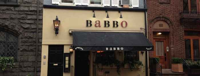 Babbo Ristorante e Enoteca is one of I Want Somewhere: Restaurants & Bars.