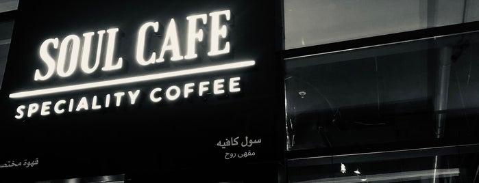 SOUL CAFE is one of Coffee shops | Riyadh ☕️🖤.