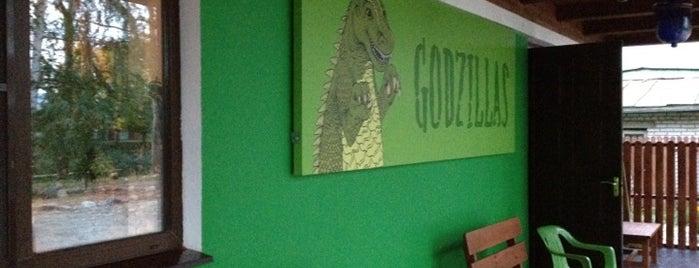 Godzillas Hostel is one of Karenina'nın Kaydettiği Mekanlar.