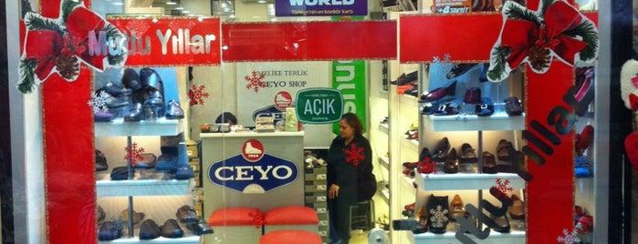 Ceyo Shop (Melike Terlik) is one of Istanbul |Shopping|.