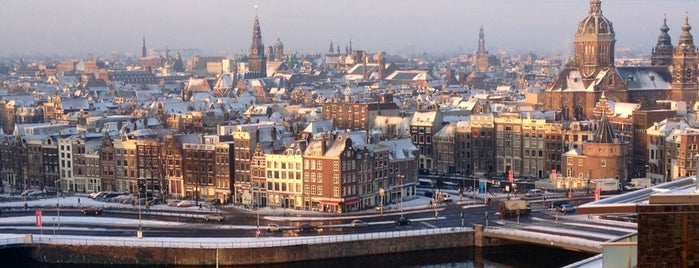 SkyLounge Amsterdam is one of Lieux sauvegardés par Mz.