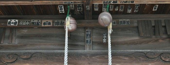 赤井氷川神社 is one of 神輿で訪れた場所-1.