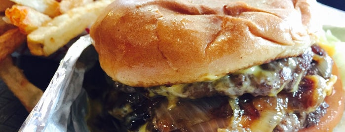 The Sandlot is one of Favorite Burgers.