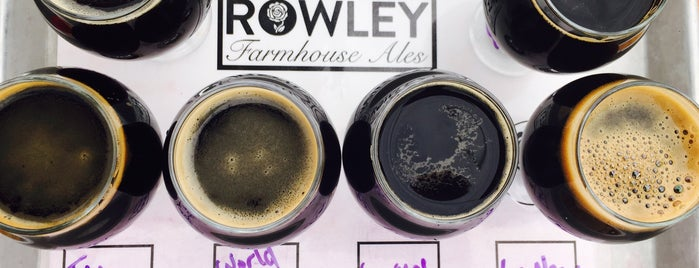 Rowley Farmhouse Ales is one of CraftBeer.com's Best Craft Beer Bar in Every State.