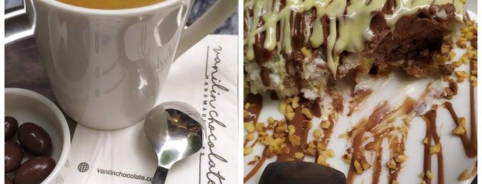Vanilin Chocolate is one of Locais curtidos por Michelin.