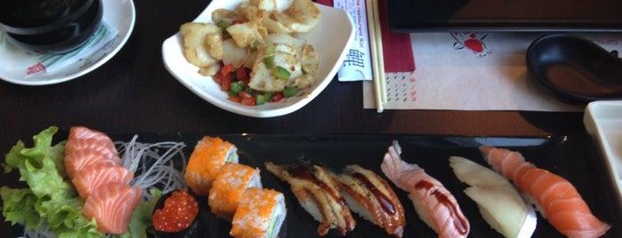 Sushi Koi is one of Orte, die Kevin gefallen.
