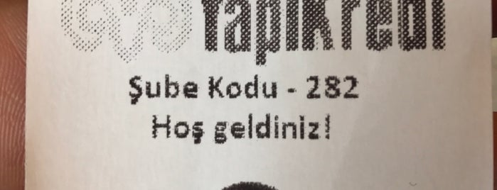 Yapı Kredi is one of Locais curtidos por Erkan.