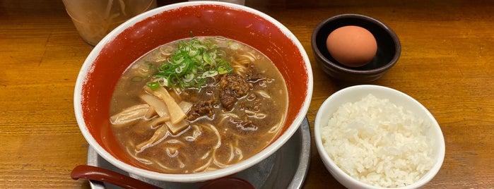 徳島ラーメン 麺王 岡山駅前店 is one of South Japan.
