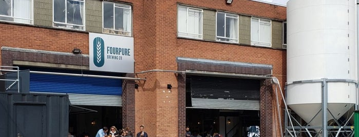 Fourpure Brewing Co. is one of The Bermondsey Beer Mile.