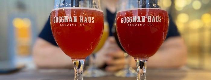 Guggman Haus Brewing Co. is one of สถานที่ที่ Jared ถูกใจ.