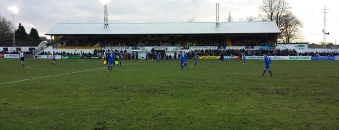 Victory Park (Chorley FC) is one of Non-League Football Grounds (Northern).