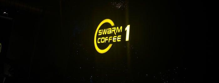 Swarm1 Coffee is one of Queen 님이 저장한 장소.