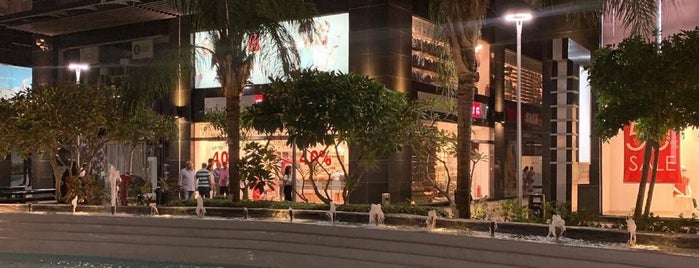 Downtown Mall is one of New Cairo site seeing.