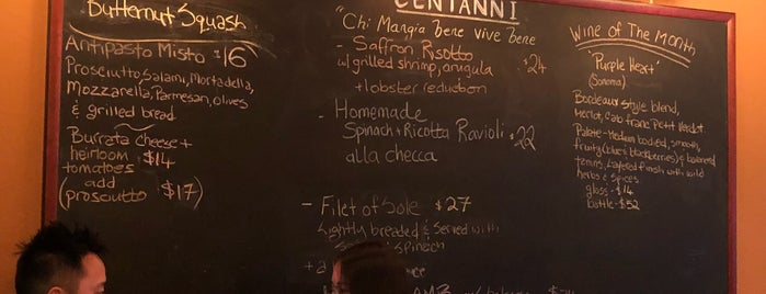 Centanni is one of Superb Restaurants: Los Angeles.