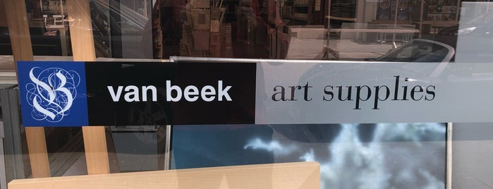 Van Beek Art Supplies is one of Lieux qui ont plu à Mirjam.