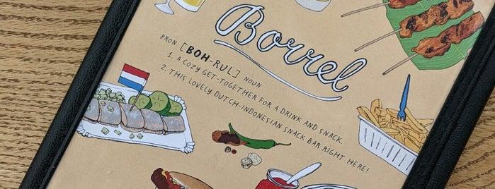 Borrel is one of Toronto.