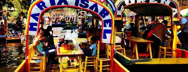 Trajineras Xochimilco is one of CDMX.