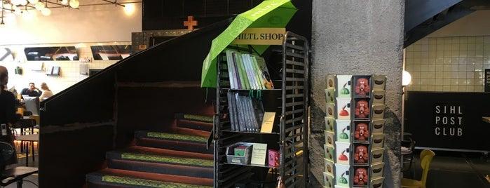 Hiltl Sihlpost is one of Zurich.