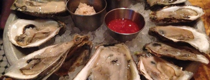 Upstate Craft Beer and Oyster Bar is one of NYC eats.