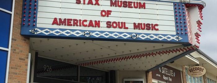 Stax Museum of American Soul Music is one of Memphis.