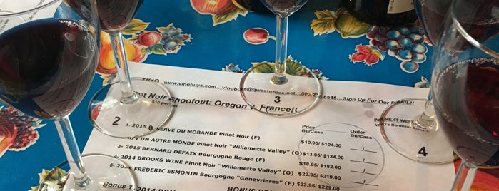 Vino is one of Tempat yang Disukai Susan.