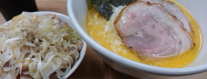 麺屋 我天 is one of TATSUYAさんのお気に入りスポット.