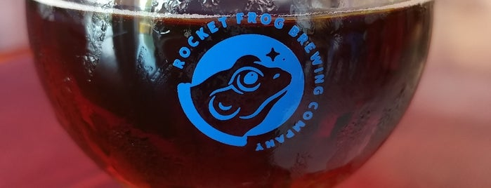 Rocket Frog Brewing Company is one of Do: dmV ☑️.
