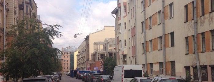 Лахтинская улица is one of Питер.