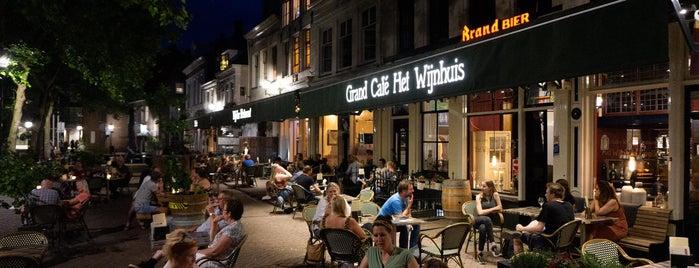 Grand café wijnbar Het Wijnhuis is one of Zwolle.