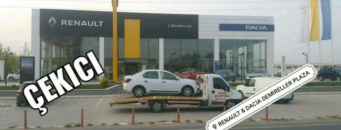 Renault & Dacia Demireller Plaza is one of Orte, die Yücel gefallen.