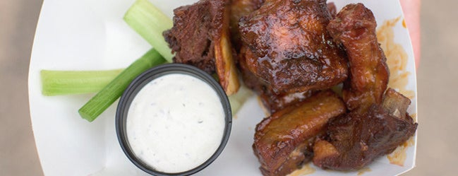 Famous Dave's - Minnesota State Fair is one of Heavy Table's 2015 Minnesota State Fair Tips.
