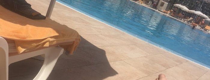 Swimming Pool (Salt Water) is one of grand hotel anthelia.