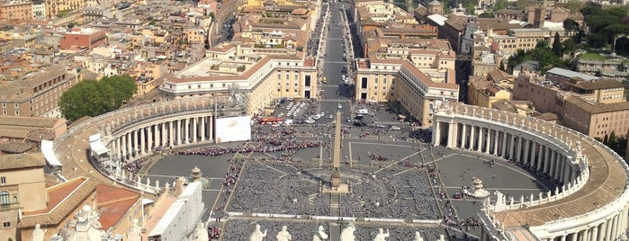 Piazza San Pietro is one of Italy: Roma.